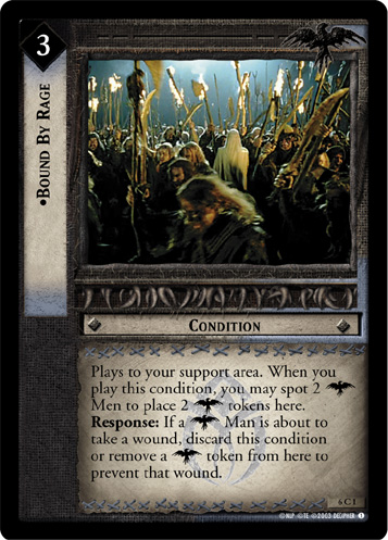 Bound By Rage (6C1) Card Image