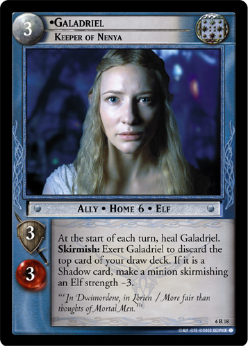 Galadriel, Keeper of Nenya (6R18) Card Image