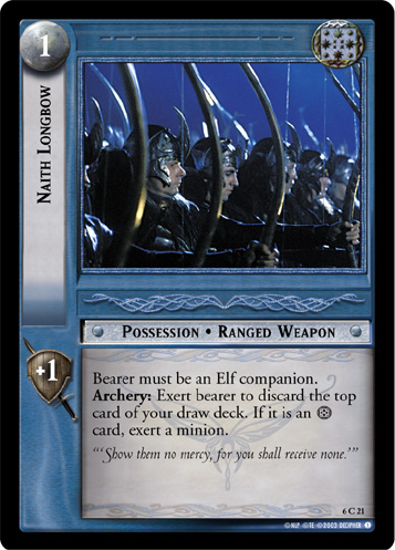 Naith Longbow (6C21) Card Image