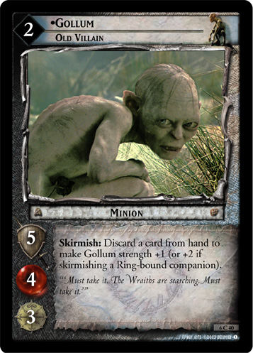 Gollum, Old Villain (6C40) Card Image