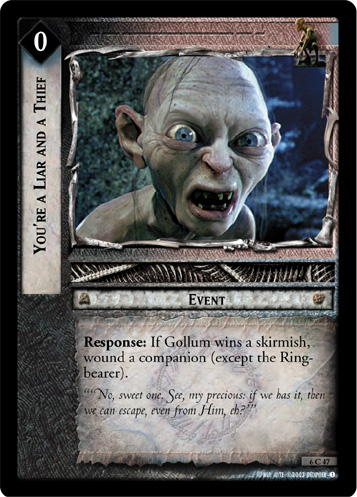 You're a Liar and a Thief (6C47) Card Image