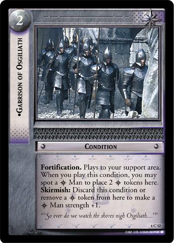 Lotr Tcg Wiki Garrison Of Osgiliath 6c52