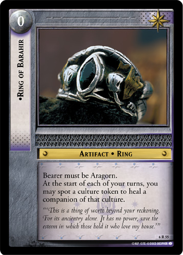 Ring of Barahir (6R55) Card Image