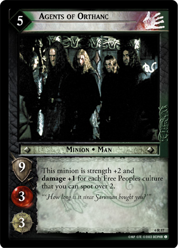 Agents of Orthanc (6R57) Card Image