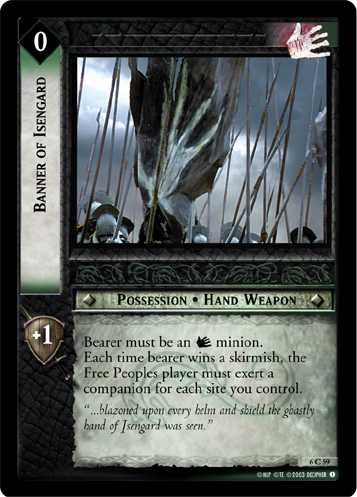 Banner of Isengard (6C59) Card Image