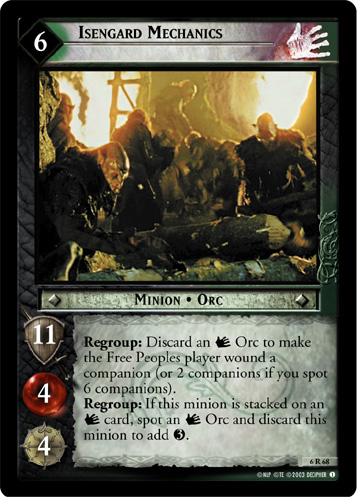 Isengard Mechanics (6R68) Card Image