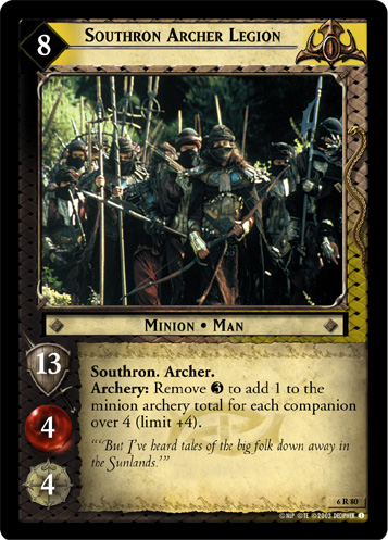 Southron Archer Legion (6R80) Card Image