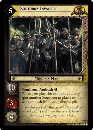 Southron Invaders (6C81) Card Image