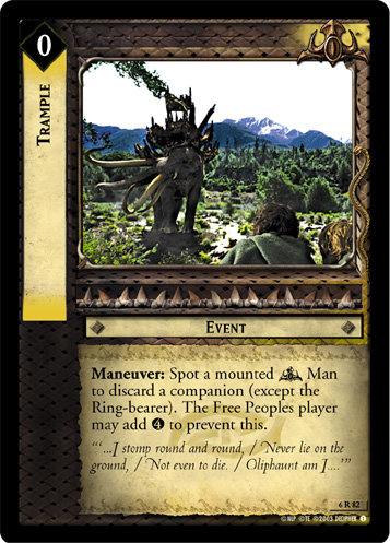 Trample (6R82) Card Image