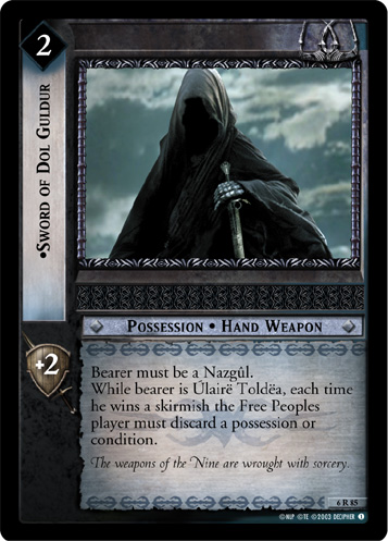 Sword of Dol Guldur (6R85) Card Image