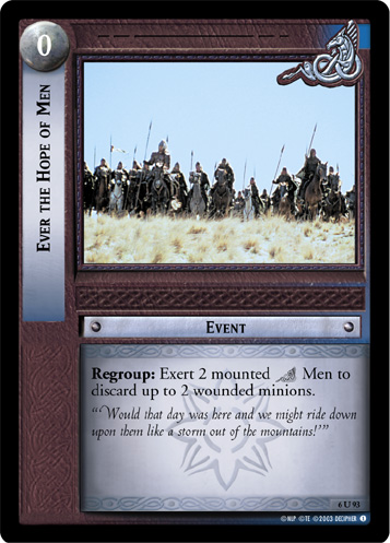 Ever the Hope of Men (6U93) Card Image