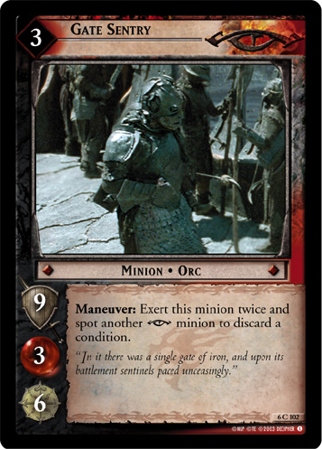 Gate Sentry (6C102) Card Image