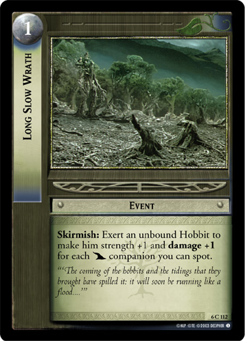 Long Slow Wrath (6C112) Card Image