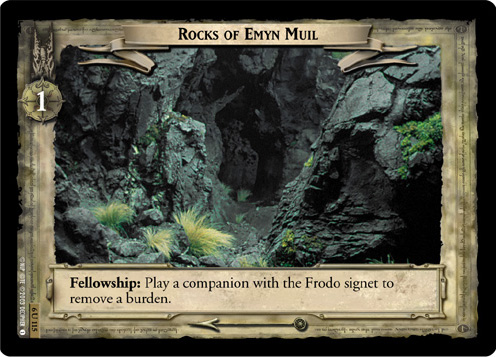 Rocks of Emyn Muil (6U115) Card Image