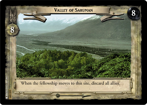 Valley of Saruman (6U119) Card Image