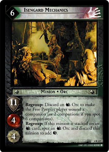 Isengard Mechanics (AI) (6R127) Card Image