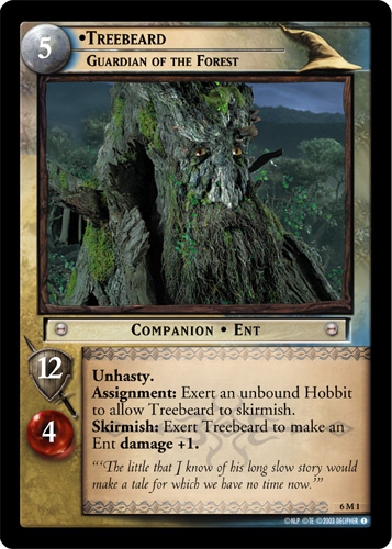 Treebeard, Guardian of the Forest (M) (6M1) Card Image