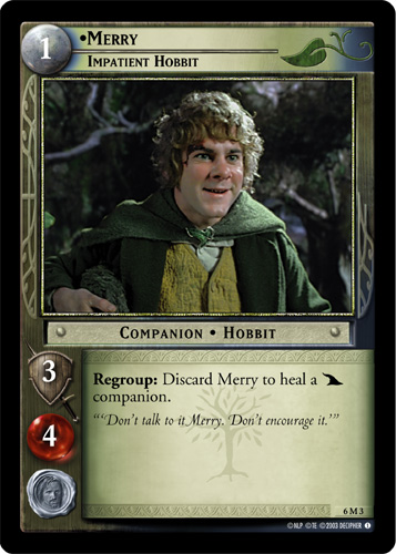 Merry, Impatient Hobbit (M) (6M3) Card Image