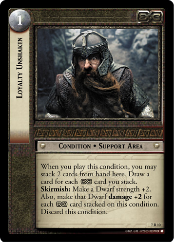 Loyalty Unshaken (7R10) Card Image