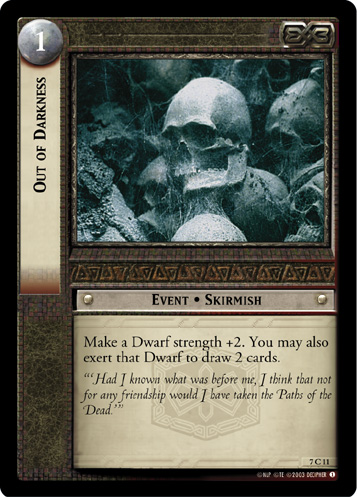 Out of Darkness (7C11) Card Image