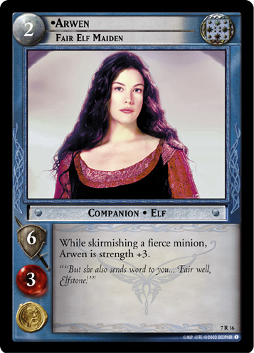 Arwen, Fair Elf Maiden (7R16) Card Image