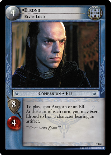 Elrond, Elven Lord (7R21) Card Image
