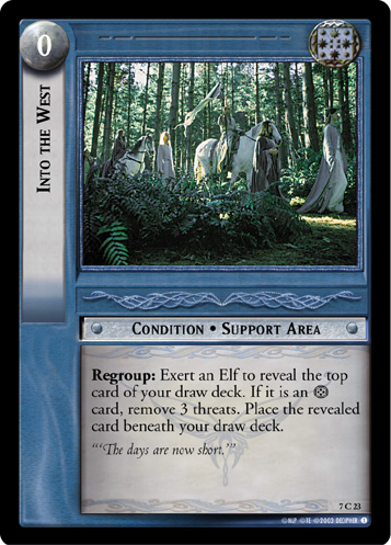 Into the West (7C23) Card Image