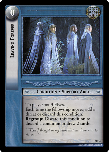 Leaving Forever (7R24) Card Image
