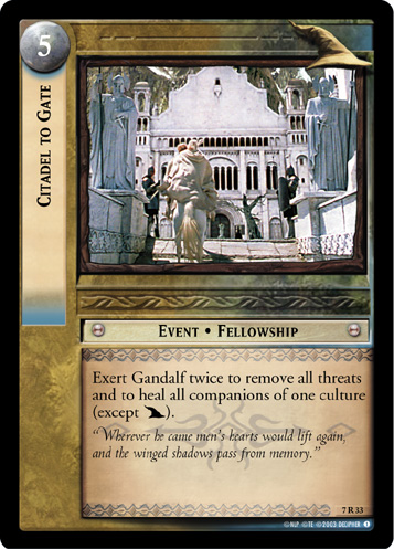 Citadel to Gate (7R33) Card Image