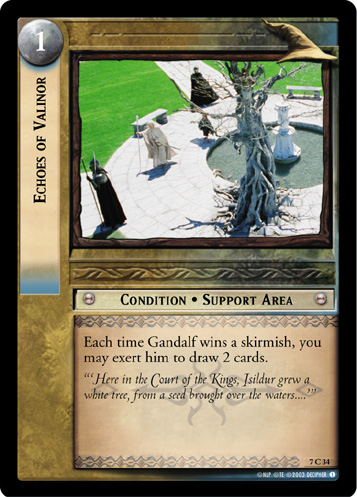 Echoes of Valinor (7C34) Card Image