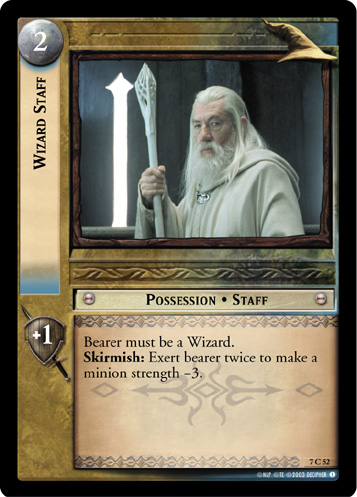 Wizard Staff (7C52) Card Image