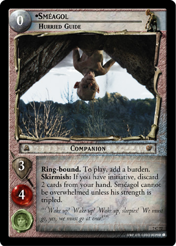 Smeagol, Hurried Guide (7C72) Card Image