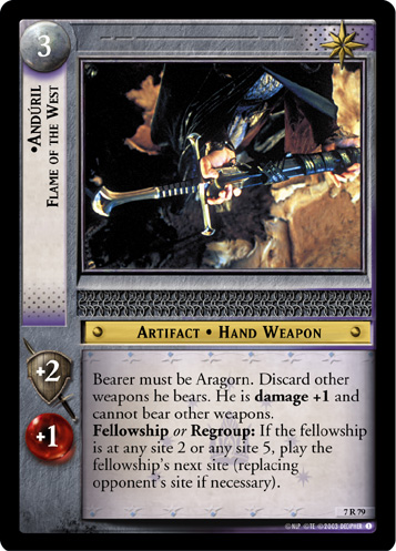 Anduril, Flame of the West (7R79) Card Image