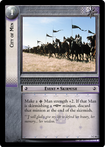 City of Men (7C83) Card Image