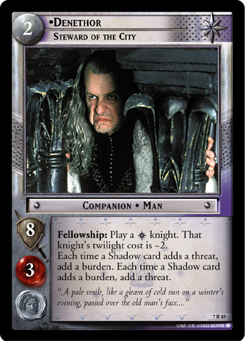 Denethor, Steward of the City (7R85) Card Image
