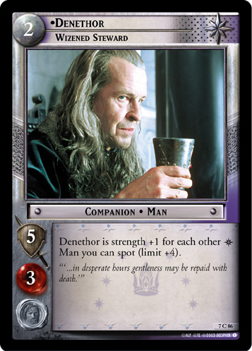 Denethor, Wizened Steward (7C86) Card Image