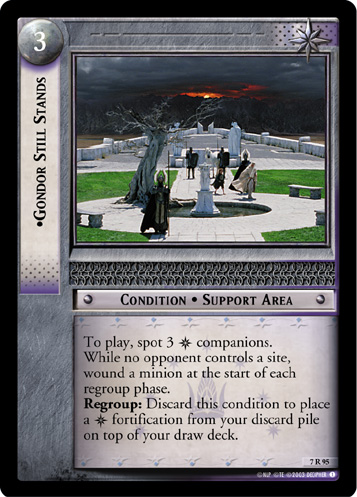Gondor Still Stands (7R95) Card Image
