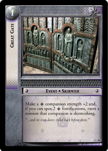 Great Gate (7C99) Card Image