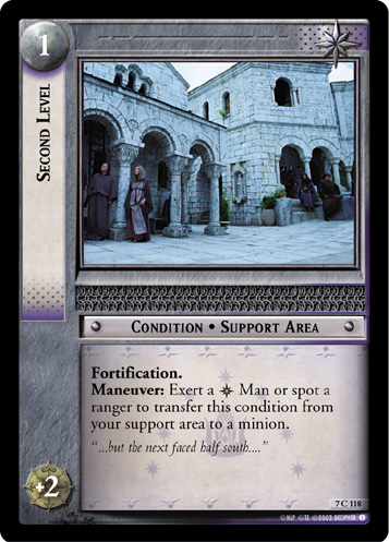 Second Level (7C118) Card Image