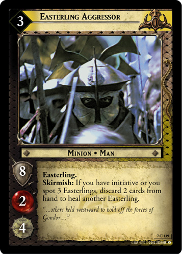 Easterling Aggressor (7C139) Card Image