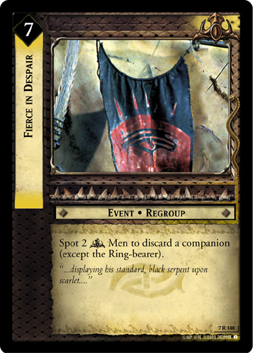 Fierce in Despair (7R148) Card Image