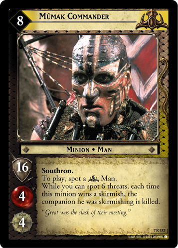 Mumak Commander (7R152) Card Image