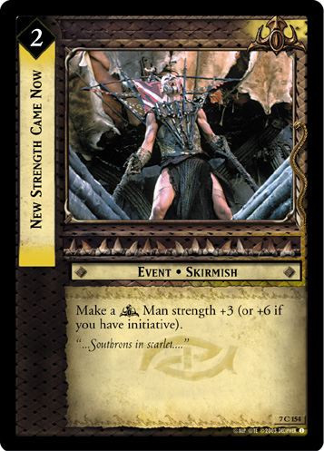 New Strength Came Now (7C154) Card Image