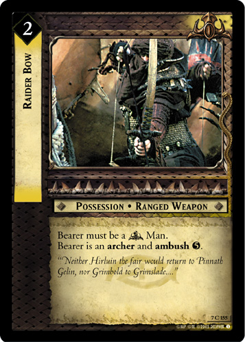 Raider Bow (7C155) Card Image