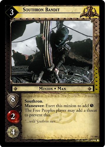 Southron Bandit (7U160) Card Image