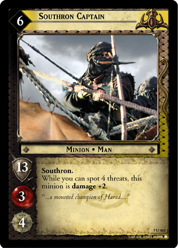 Southron Captain (7U162) Card Image