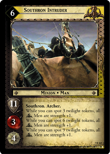 Southron Intruder (7R165) Card Image