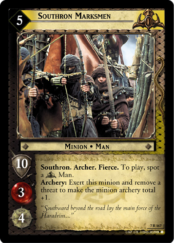 Southron Marksmen (7R167) Card Image