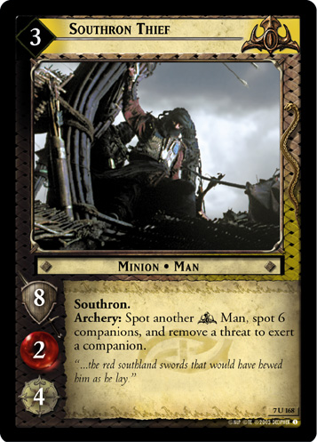 Southron Thief (7U168) Card Image