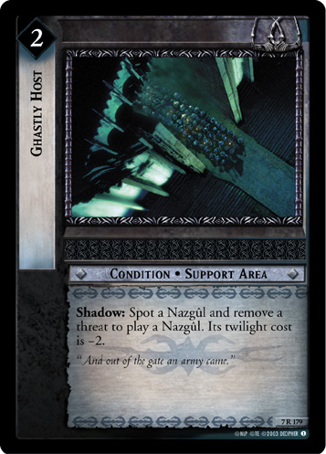 Ghastly Host (7R179) Card Image